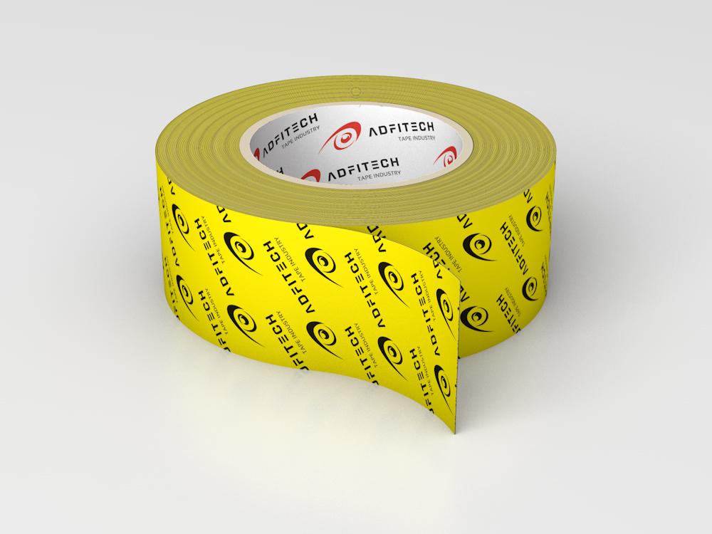 Dichtklebeband Kraftpapier gelb, AT 710 classic