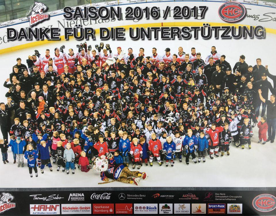 Nachwuchs Eishockey des EHC 80 Nürnberg e.V.